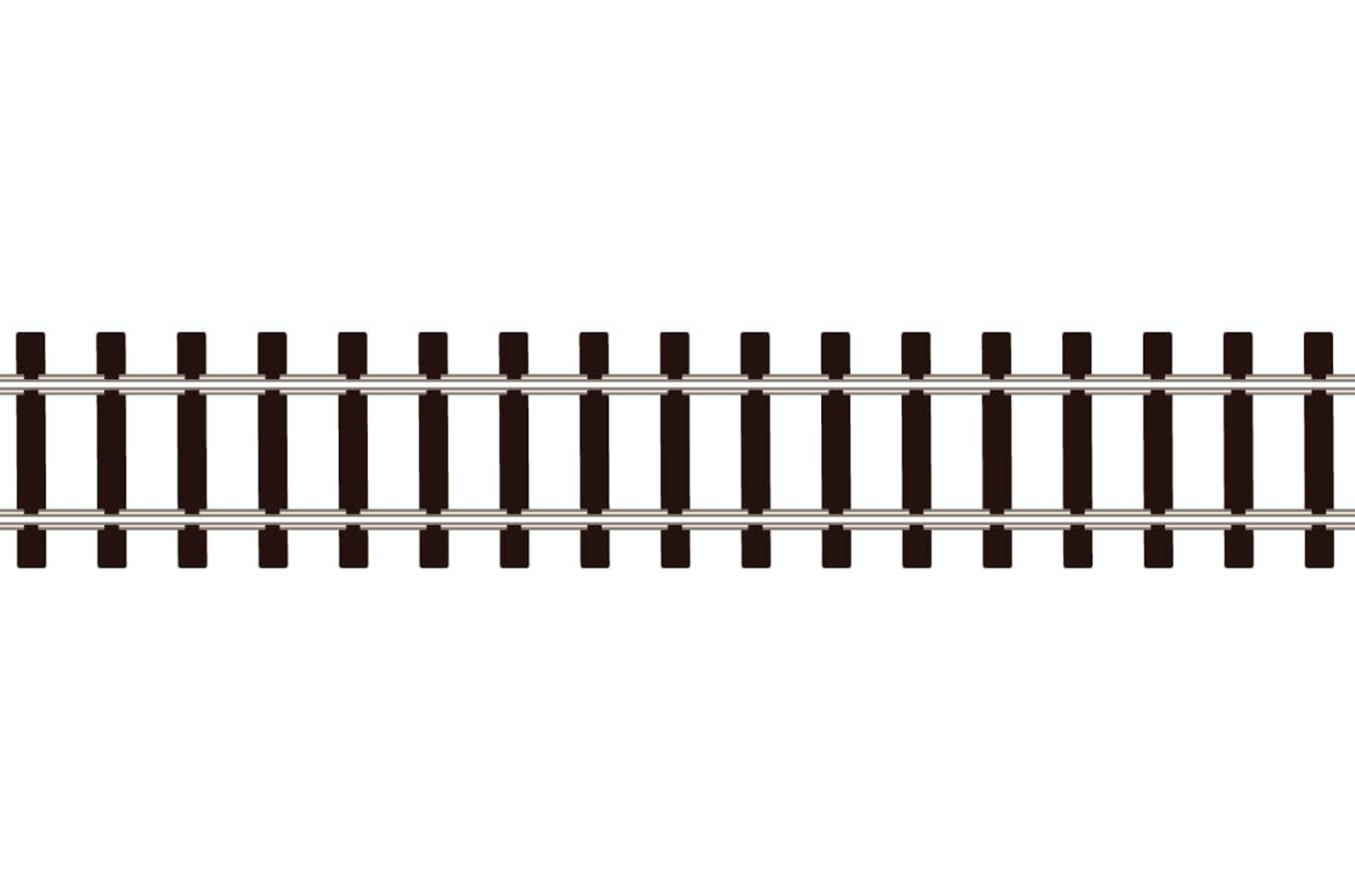 SL300 25 Yards code 80 Nickle Silver Flexible Track with Wooden Type Sleepers