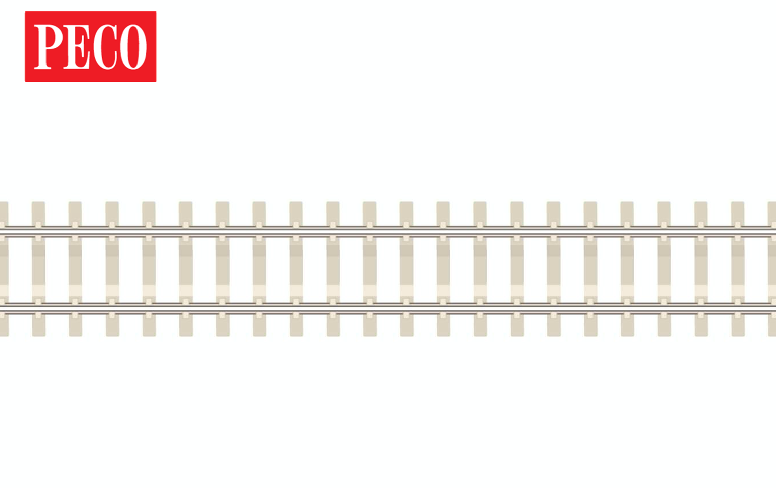 SL302F 30 Yards code 55 Nickle Silver Flexible Track with Concrete Sleepers