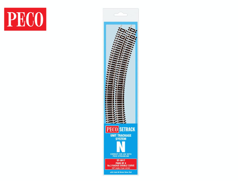 ST3017 Setrack No.3 Double Standard Curve Track Radius 3 298.5mm (4)