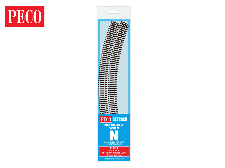 ST3019 Setrack Double Standard Curve Track Radius 4 333.4mm (4)