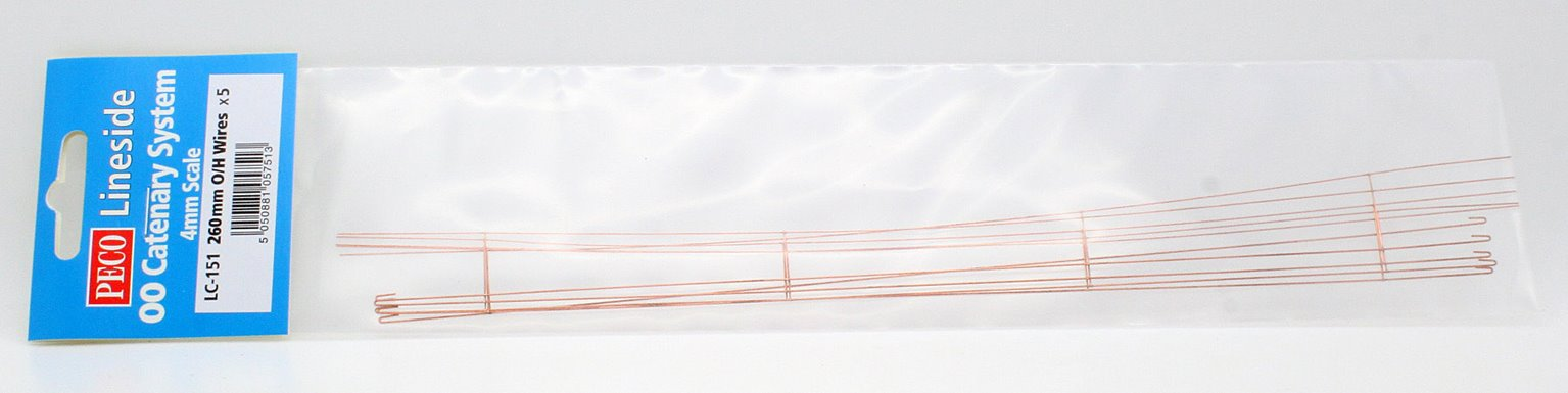 Catenary Contact Wires 5 x 260m
