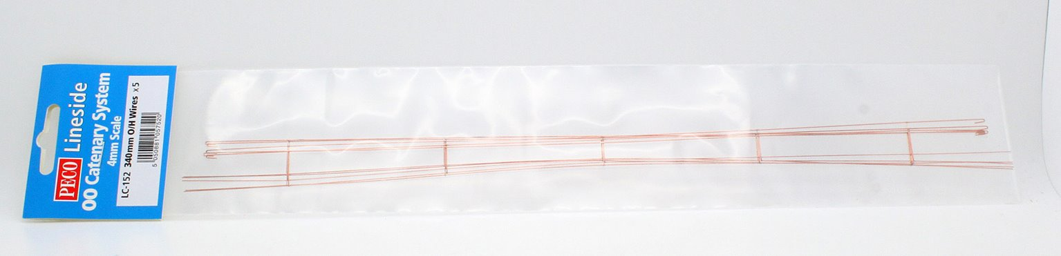 Caternary Contact Wires 5 x 340mm