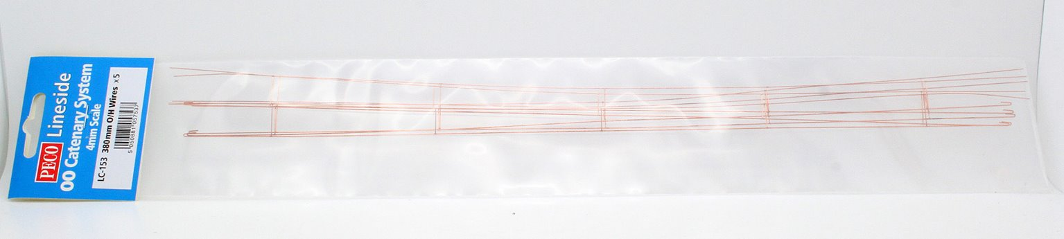 Catenary Contact Wires 5 x 380mm