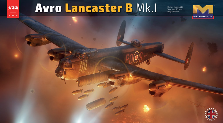 Avro Lancaster B.I/B.III WWII RAF Heavy Bomber