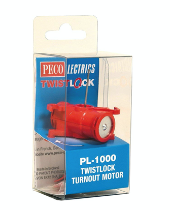 Pecolectrics Twistlock Turnout Motor