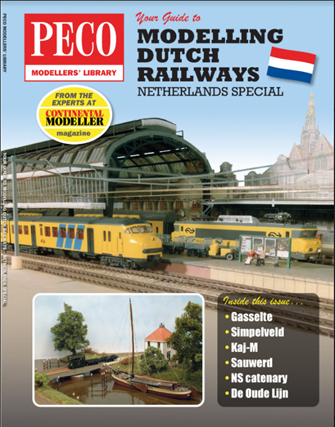 Peco PM-213 Your Guide to Modelling Dutch Railways