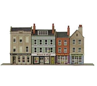 Low-relief High Street Bank & Shop