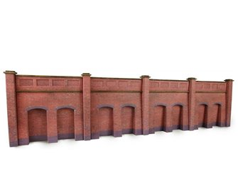 Metcalf Brick Retaining Walls N scale