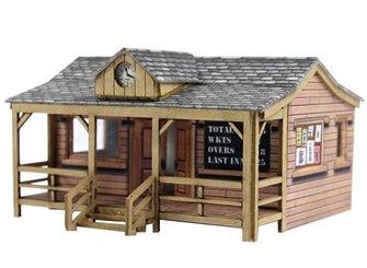 PN821 N Scale Wooden Pavilion