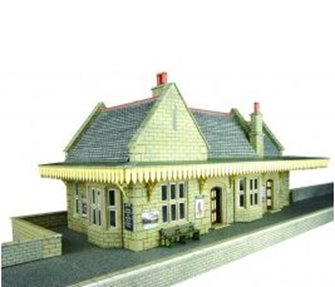 Stone Built Wayside Station Kit