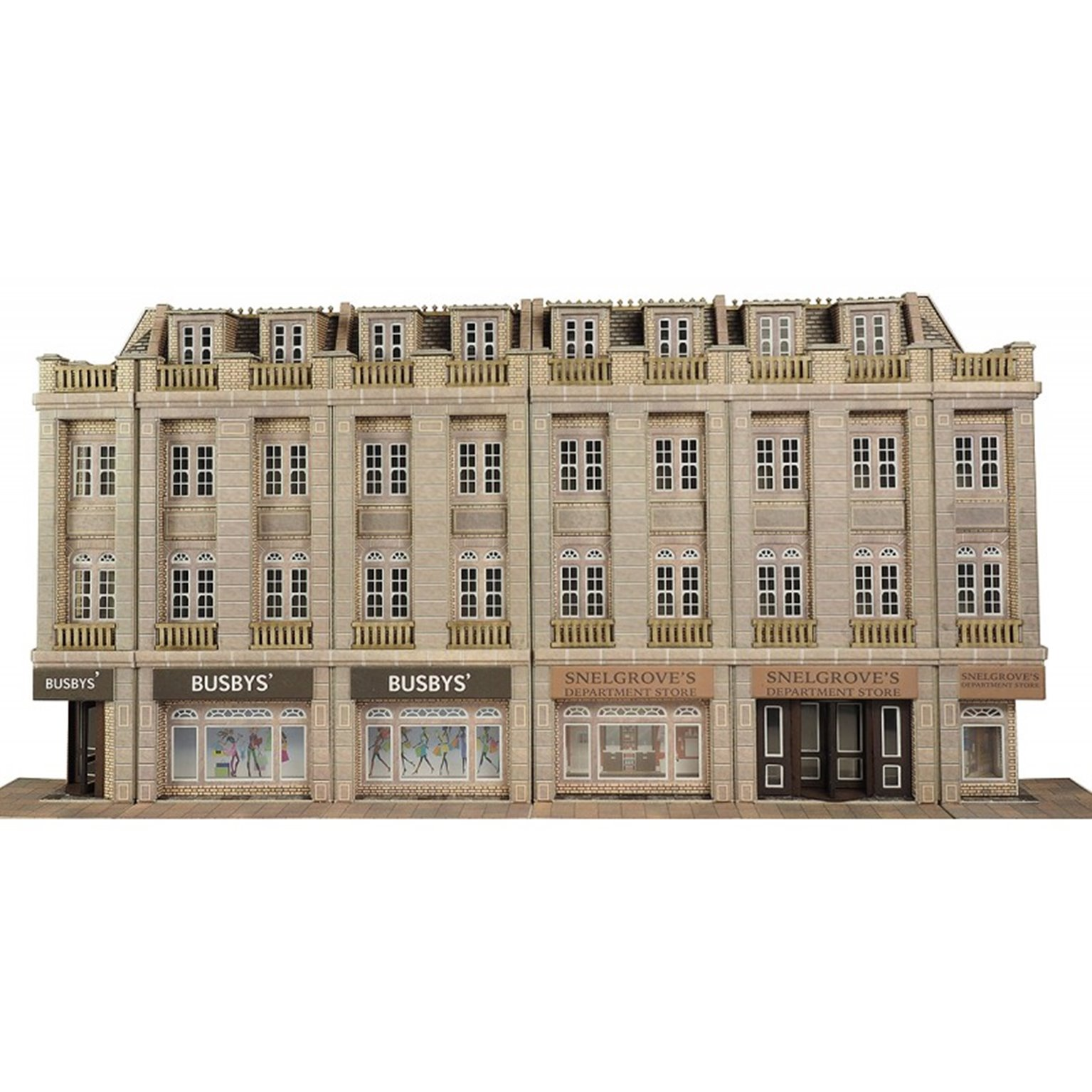 Low Relief Department Store