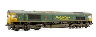 Class 66 614 'Poppy' Freightliner Diesel Locomotive Weathered