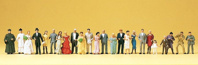 Wedding Figures (24) Standard Figure Set
