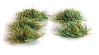 4mm Self Adhesive Assorted Grass Tufts