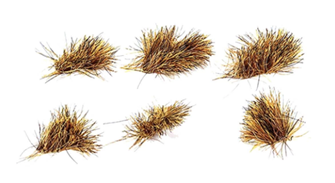 6mm Self Adhesive Patchy Grass Tufts