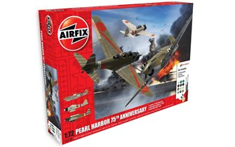 Airfix A50180 Pearl Harbour 75th Anniversary Gift Set