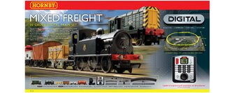 DCC SET - Mixed Freight Digital Train Set
