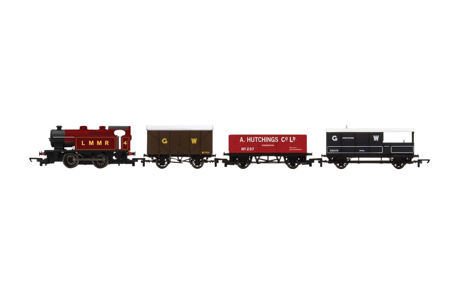 Industrial Freight Train Set