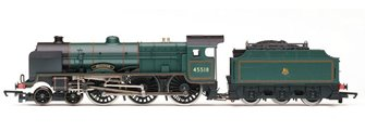 RailRoad BR 4-6-0 'Bradshaw' Patriot Class Locomotive