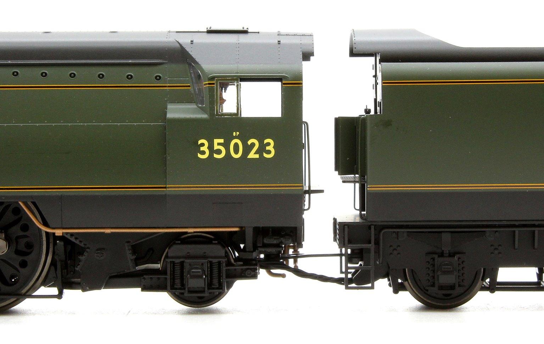 BR 4-6-2 'HOLLAND-AFRIKA LINE' '35023' MERCHANT NAVY (UN-REBUILT) - BR EARLY - DCC READY