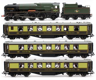 Golden Arrow Last Steam Run Train Pack - Limited Edition