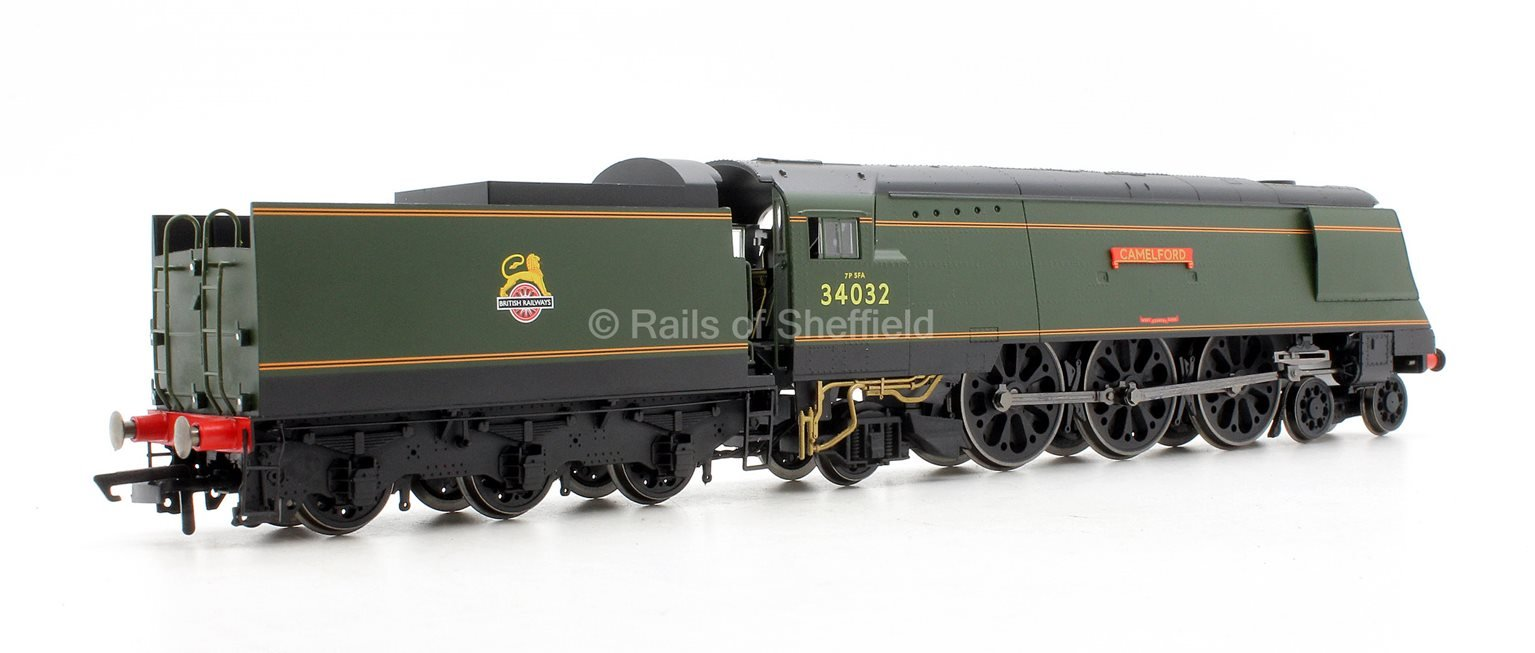 BR 4-6-2 'Camelford' '34032' West Country Class - BR Early - Air Smoothed