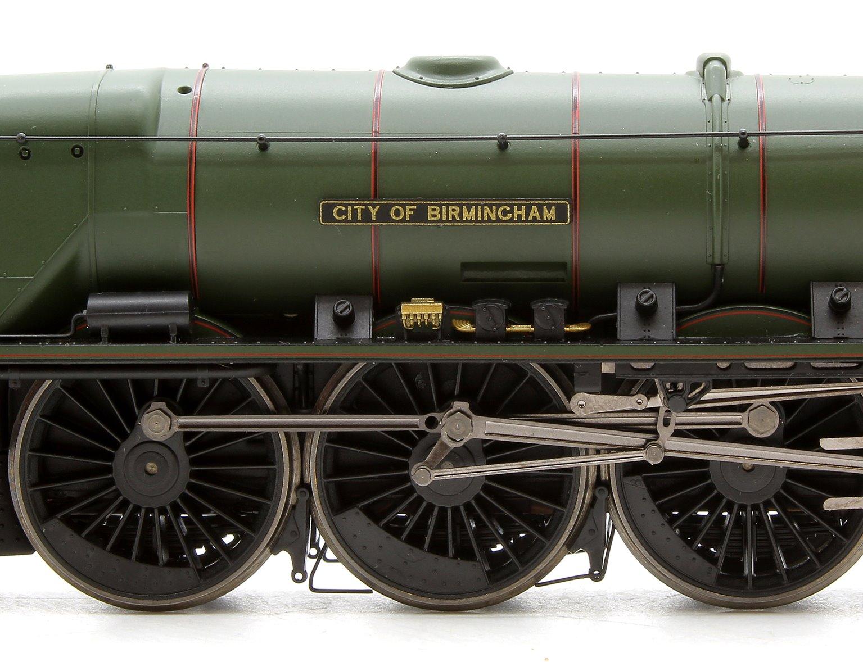 BR 4-6-2 'City of Birmingham' Princess Coronation Class (Modified) with TTS Sound