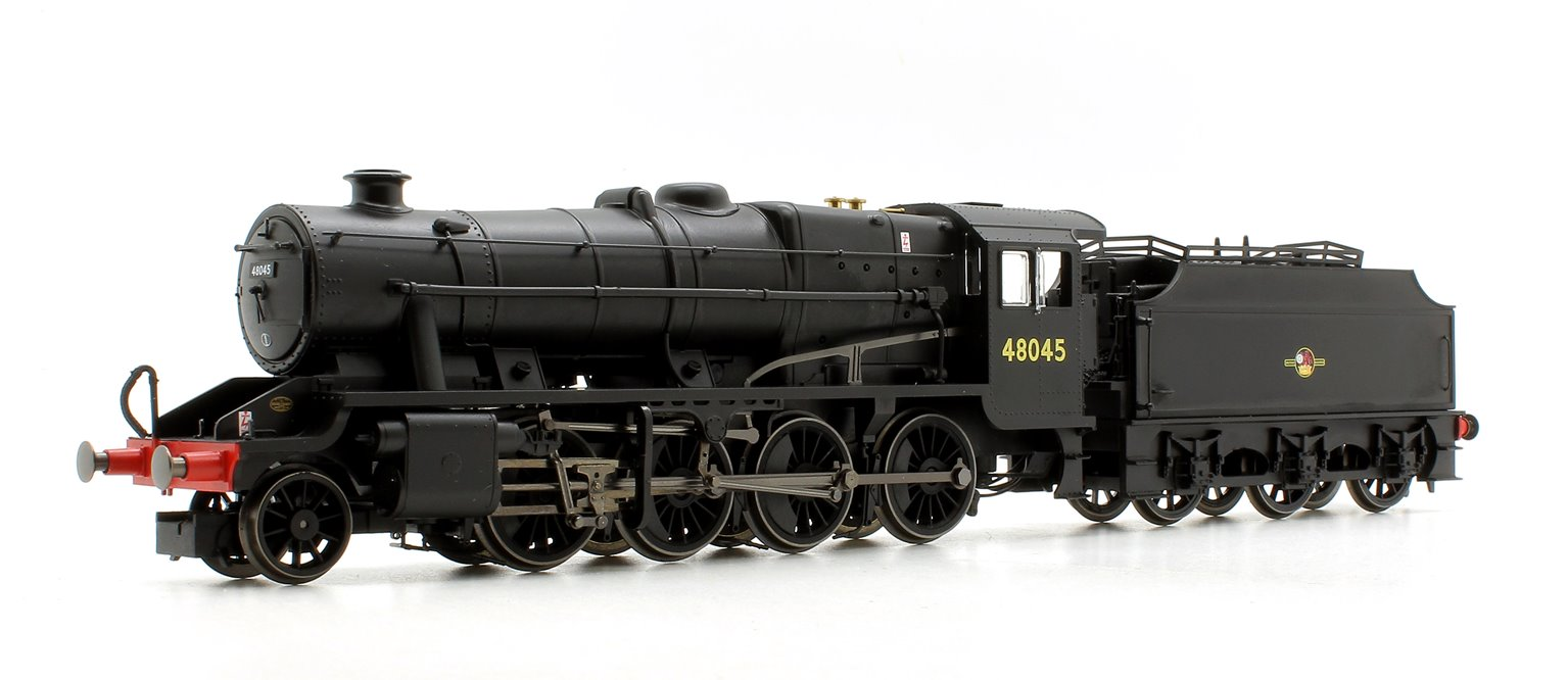 BR Black Class 8F 2-8-0 Steam Locomotive '48045' with Fowler Tender