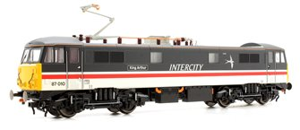 Class 87 010 King Arthur BR Intercity Swallow logo (High Speed Pantograph)