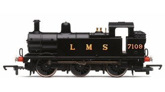 RailRoad LMS 0-6-0T '7109' Jinty Class 3F