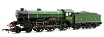 RailRoad LNER Green 4-6-0 'Liverpool' Class B17 Locomotive No.2864