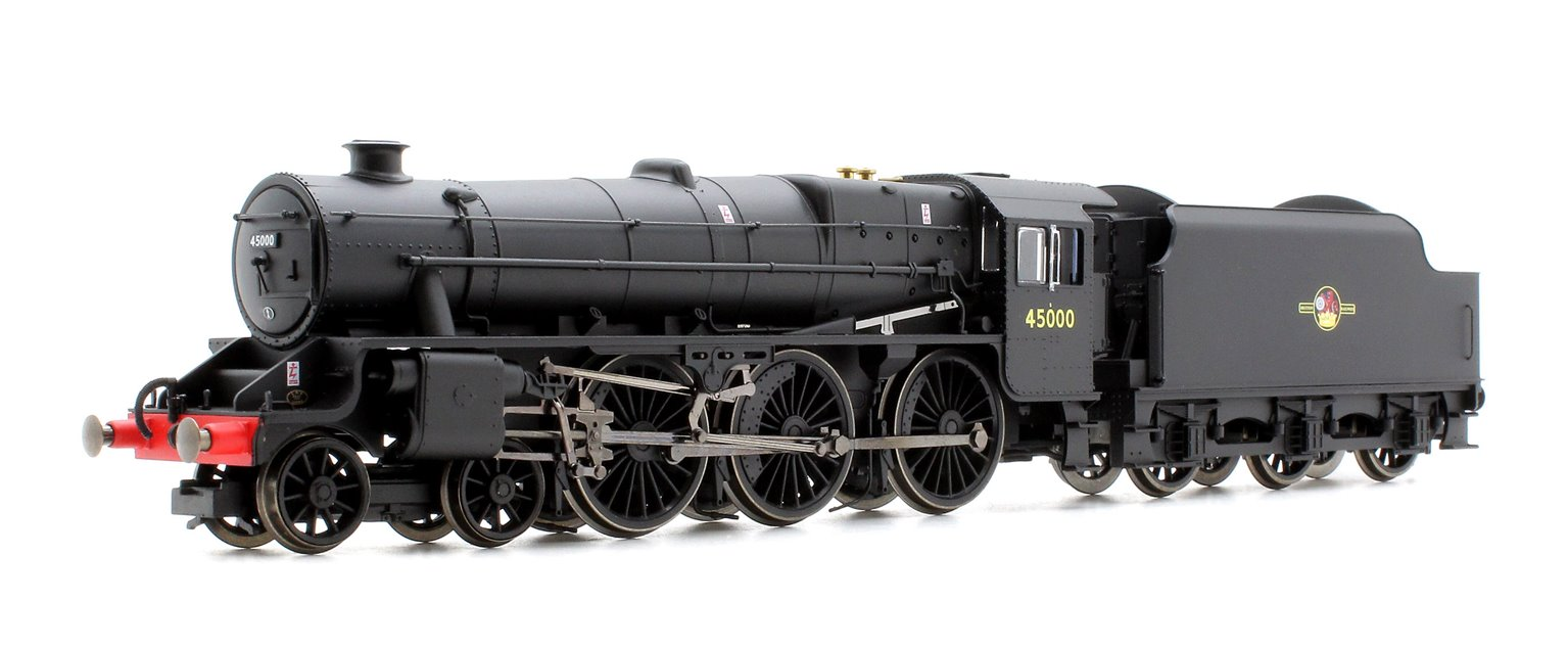 BR (Late) Black 5 Class 4-6-0 Steam Locomotive No.45000 DCC with TTS Sound!