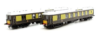 Hornby Pullman, 5-BEL 'Brighton Belle' 2 Car Train Pack