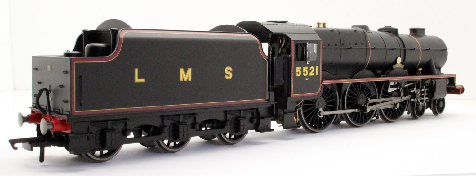 LMS Patriot Class  Rhyl 4-6-0 Steam Locomotive 5521