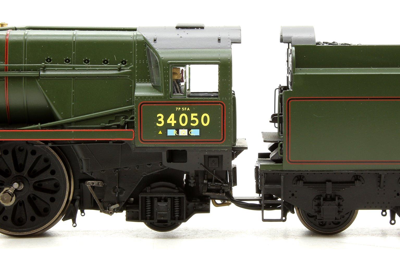 BR, Rebuilt Battle of Britain Class, 4-6-2, 34050 Royal Observer Corps