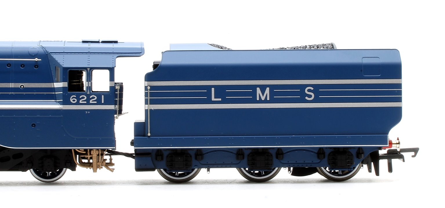 LMS 'Queen Elizabeth' Princess Coronation Class 4-6-2 Steam Locomotive No.6221
