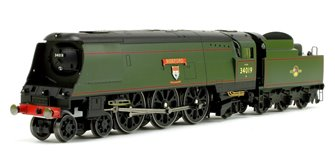 """Bideford"" BR Green (Original) West Country Class 4-6-2 Locomotive No.34019"