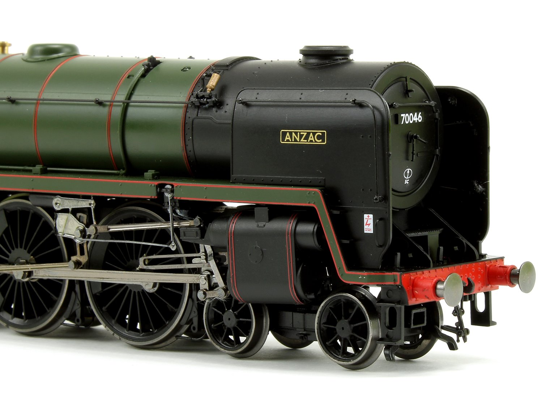 R3643 'Anzac' BR Green Standard 7 Britannia Class 4-6-2