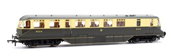 GWR Chocolate/Cream AEC Diesel Railcar Locomotive No.24