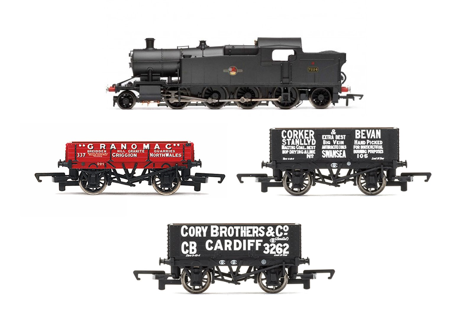 Collett 2-8-2T Class 72xx Freight Pack (South and Mid Wales late 1950s)