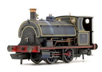 Port of London Authority Peckett W4 Class 0-4-0ST No. 74 (Weathered)
