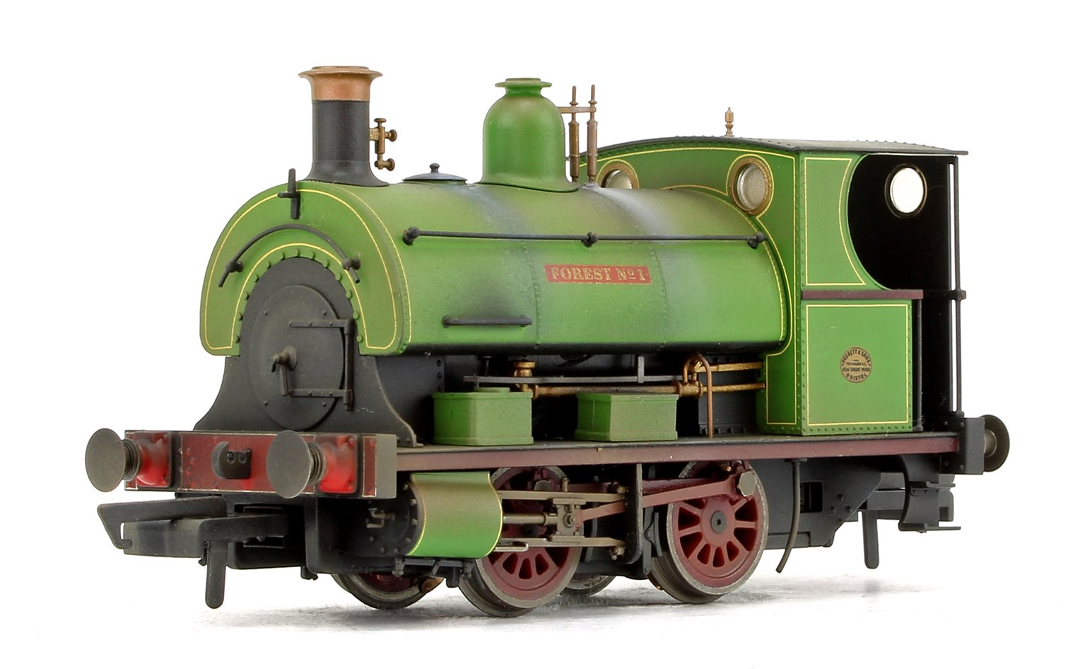 'Forest No. 1' Peckett W4 Class Charity Colliery 0-4-0ST Locomotive (Weathered)