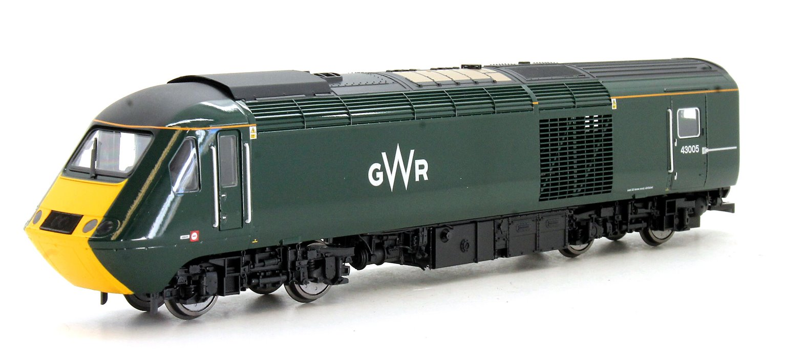 GWR Class 43 HST Power Cars Pack 43041 'Meningitis Trust Support for Life' and 43005