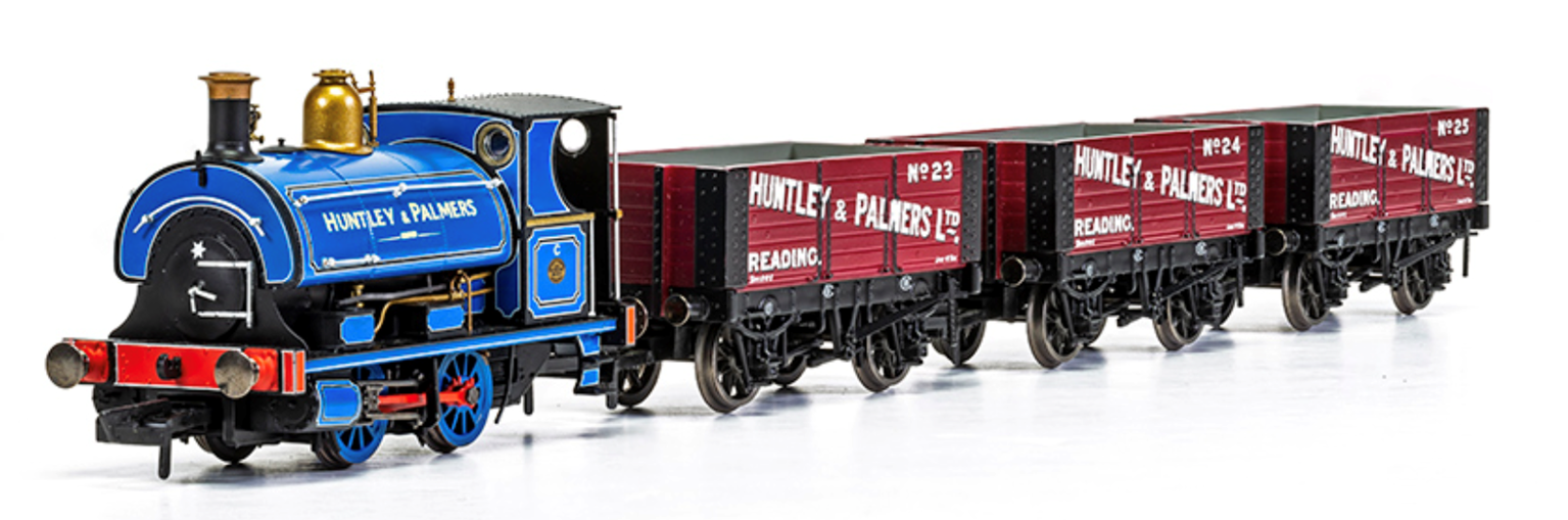 Huntley & Palmers Peckett W4 Works Freight Pack