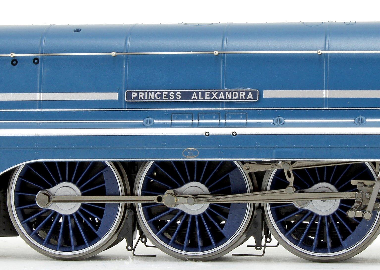 'Princess Alexandra' LMS Blue Princess Coronation Class 4-6-2 Steam Locomotive No.6224