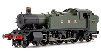 Class 5101 Large Prairie GWR Green 2-6-2 Tank Locomotive No.4154 (DCC Fitted)