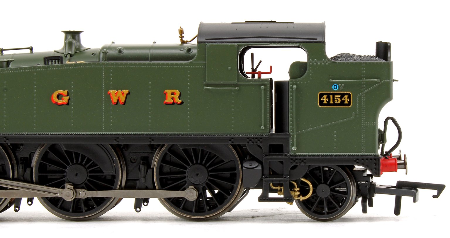 Class 5101 Large Prairie GWR Green 2-6-2 Tank Locomotive No.4154