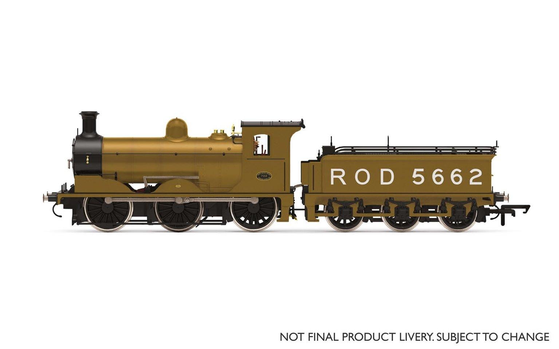 ROD, J36 Class, 0-6-0, 5662