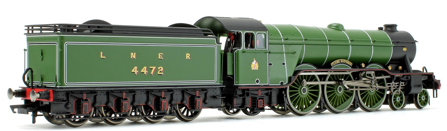 'Flying Scotsman' LNER Green Class A1 4-6-2 Steam Locomotive No.4472