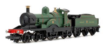 'Achilles' GWR Green Dean Single Class 4-2-2 Steam Locomotive No.3031